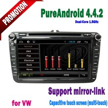 8 inch touch screen android gps radio 2 din cd dvd player car dvd car multimedia system for VW transporter