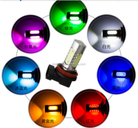12V 7.5W Car Flashing light Auto Braking Flash LED Light 1157 P21/5W BAY15D / T20 7443 w21/5w /3157 P27/5W