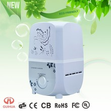 2015 New Arrivals!!! easy knob control helth care 3.8L big capacity office/bedroom air purifier humidifier