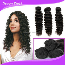 7A grade cambodia hair no chemical processed tangle free virgin deep curly