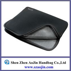 new black kick stand model neoprene laptop sleeve for ipad mini