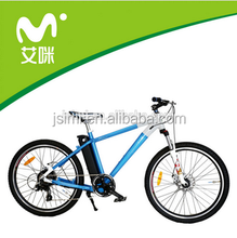 Colors available 250w motor 36V/10Ah lithium battery powered electric mountain bike,EN15194 Approval