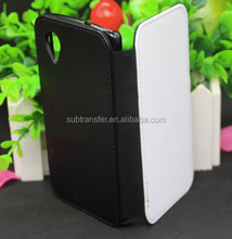 2015 newest sublimation mobile phone case flip wallet leather case for Google5