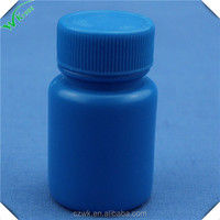 50g bule empty medical plastic bottlefor tablets with screw caps