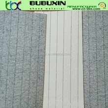 1.25mm Nonwoven shoe material Stripe insole board material for Volleyball shoes making