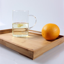 china new arrival high quality unique shape heat resistant glass single wall drinking cup with handle for tea or juice