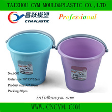 Hot selling pp plastic products drinking water bucket