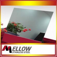 Foshan Mellow Mirror/NO.8 Stainless Steel For Elevator Door/Indoor