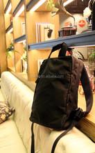 Black Canvas Backpack Bag