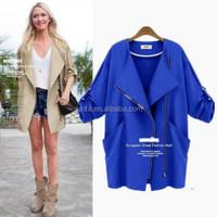 Fashionable unique sweat girl coat