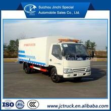 swifter sweeper/light rail sweeper truck JMC 4X2 street sweeper price