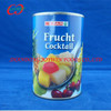 cheap price canned fruit cocktail in syrup, chinese canned food fatory