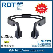 Waterproof Bone Conduction Headphone, Bone Conduction Headset, Waterproof Bone Conduction MP3 and Bluetooth