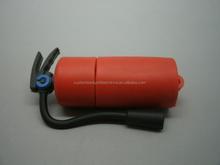 Hot oem high speed fire-fighting equipment pvc extinguisher flash memory usb stick