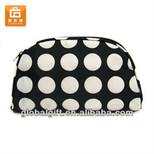 cosmetic bag polka dot
