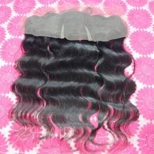 Hot sale hair weave 13x4 lace front closure brazilian body wave