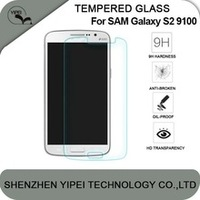 Wholesale explosion-proof Tempered glass film screen protector for samsung S2 s3 s4 9100 9150