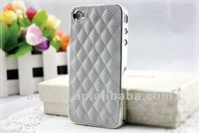 colorful PU/genuine leather case for iphone4