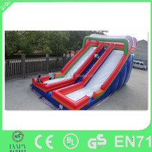 popular high quality fire truck inflatable slide, inflatable water slide for sale