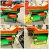 High efficiency farm corn thresher and sheller machine