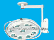 Hole type surgery shadowless led operating lamp