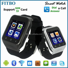 Perfect Wearable WIFI, FM, Email, Dual Core, best sales GV08 smart watch