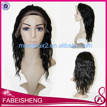 18 inches human hair lace front fantasy wig