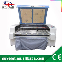 Roll to roll Carpet felt polyester cotton Automatic Feed Laser Cutting Machine