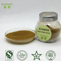 free sample natural Black Cohosh Extract/Tritepene Glycosides/Triterpenoides Saponis