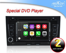 7 inch car dvd player for Audi A4 double din with GPS,3G,Wifi,bluetooth,DVR function (camera/tmc/dvb-t optional)