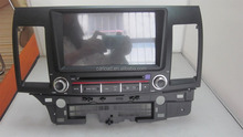 Android 8 inch 2 din mitsubishi lancer car dvd with WIFI BT Video Audio TV and complete