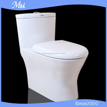 One Piece Closestool Toilet Sitting Toilet Sanitary For Hotel
