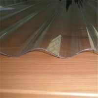 transparent roofing clear corrugated plastic sheets 4x8
