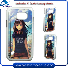 Aluminum Insert 2d Sublimation Cell Phone Case for Samsung GALAXY S6 Active