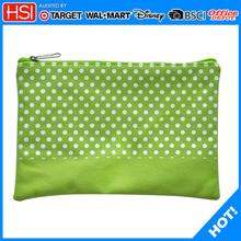 stationery school supplies dots canvas pencil bag