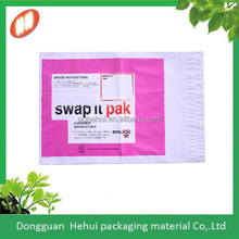 biodegradable coex ldpe post satchel with logo for online shopping