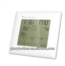 5 days weather forecast clock with radio controlled clock