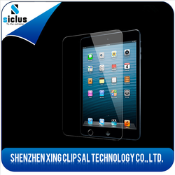 Perfect fit For ipad 0.33mm shockproof Tempered Glass Screen Protector from whloesalers china