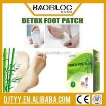 Manufacturer Wood Vinegar Foot Patch/Ginger Detox Foot Patch/junzhigong foot patch