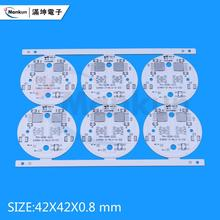 1 oz copper thickness single layer pcb led light pcb with battery pcb for high power led
