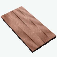 hot sell! 600x300mm 300x300mm WPC plastic base deck tile, flooring decking tiles, wpc DIY tiles