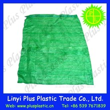 various color custom circular woven mesh bag for patato or onion packaging