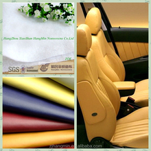 Alibaba china Best quality anti-abrasion low price nonwoven fabric and textile of microfiber leather for car seat cover