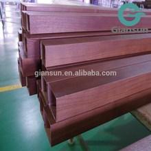 De madera perfil de aluminio para el techo/pared de cortina de aluminio de perfil