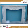 White marble fireplace with cheap price