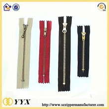 Personality Reasonable Price #3 #5 Metal Zipper Colse End For Boots