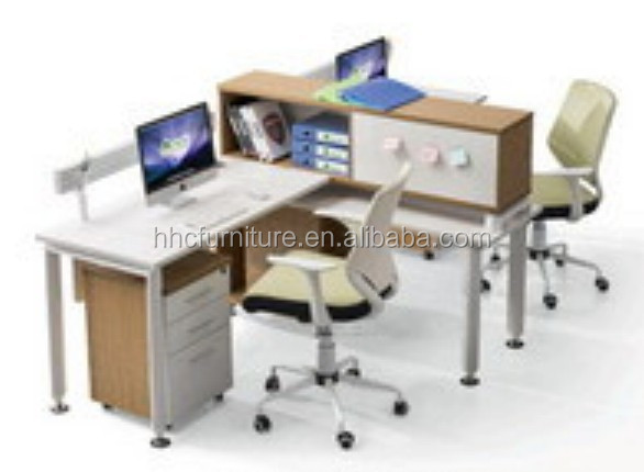 AB823 Modern Office desk workstation for 2 person/people computer desk
