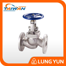 Cast Steel CF8M OS & Y Buttweld Gear Operated Globe Valve