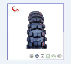 Off road 110/90-19 motorcycle tyre and tube