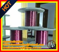 florist wire spool (manufacture)